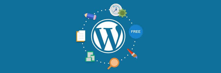 choose WordPress to setup powerful blog