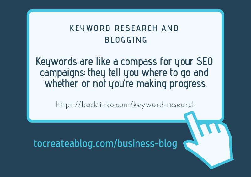 Keywords are like a compass for your SEO campaigns: they tell you where to go and whether or not you're making progress.