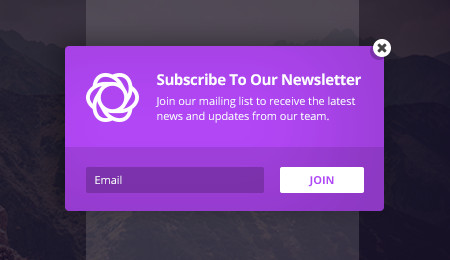 Create beautiful email signup forms with Bloom plugin