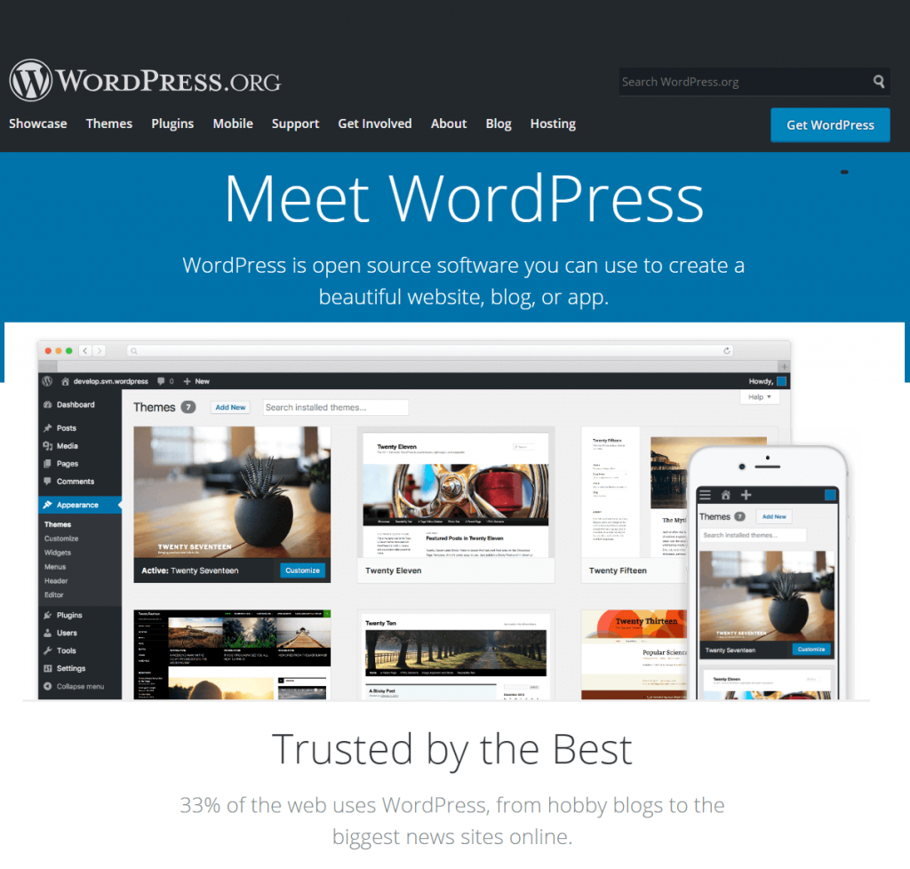 WordPres.org - Content Management System
